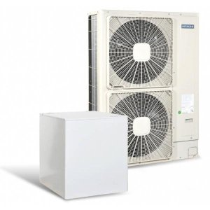 Високотемпературна термопомпа Hitachi YUTAKI S80 5 само отопление (400V) 14 kW-0