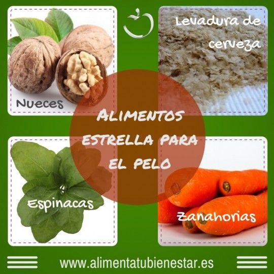 Los mejores nutrientes para el pelo (alimentos que los contienen)