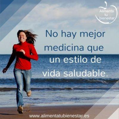 No hay mejor medicina que un estilo de vida saludable