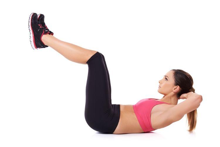 ejercicios para hacer en casa - abdominales