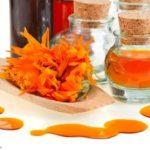 Aceite de hierbas : Beneficios del aceite de caléndula y usos