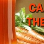 La cura del cáncer con zanahorias. Famosa de Hollywood se cura de cáncer bebiendo jugo de zanahoria, no te lo pierdas, mira de quien se trata.