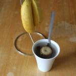 Té de plátano y canela para dormir