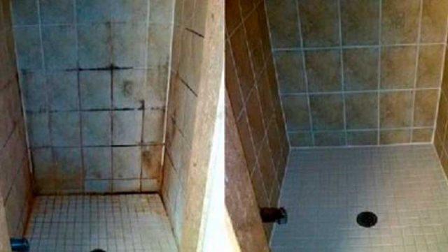 Este método para limpiar los azulejos del baño es 100 veces más ...