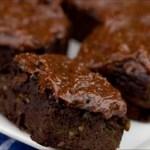 Cómo hacer deliciosos Brownies con aguacate y batatas en lugar de mantequilla, harina de trigo y azúcar