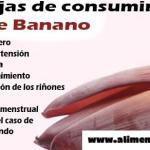 Los beneficios de la flor de banano