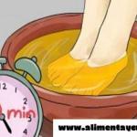 Mira que sucede si sumerges tus pies en vinagre de manzana al menos 1 vez por semana