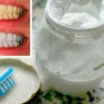 La pasta de dientes caseros que blanquea los dientes y cura caries y enfermedad periodontal