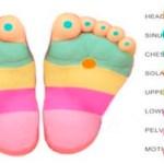 Presiona estos puntos en los pies de tu bebé para hacer que dejen de llorar inmediatamente