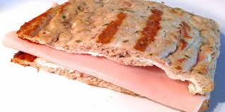 Sándwich sin hidratos y sin grasa