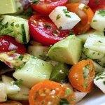 Deliciosa Ensalada Para Deshinchar El Vientre Y Bajar De Peso En 5 Días ¡Pruébala Y Comprueba Tú Misma Los Resultados!