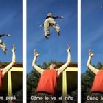 Prohibido jugar con los niños tirándolos por el aire, podría llegar a ser mortal