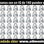 ¡SÓLO LAS PERSONAS CON UN IQ DE 140 PUEDEN HACER ESTO!