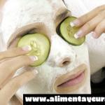 Esta mascarilla de pepino y yogur acabará con el acné y granos en tu cara