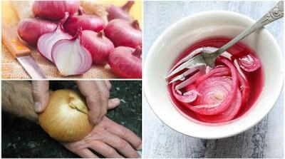 Poder curativo de cebollas. Salud y belleza beneficios de crudo de cebolla!