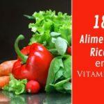 18 Alimentos ricos en vitamina E: Bomba Antioxidante!