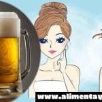 Descubre las grandes maravillas de usar la cerveza en los cabellos, pies y manos.
