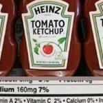 Heinz Ketchup ni siquiera es un ketchup, las reglas de salud del cuerpo del gobierno