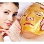 Mascarilla de colágeno para rejuvenecer la piel del rostro