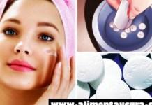 Cómo usar aspirina para tratar las espinillas?