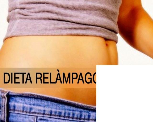 Súper Dieta RELÁMPAGO para adelgazar 7 kilos (15 libras) en sólo 15 días!
