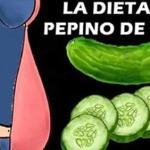 Dieta Del Pepino Para Eliminar La Grasa Del Cuerpo En 7 Días