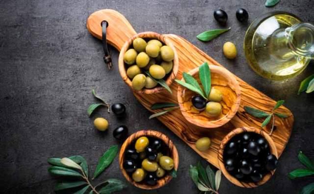 Propiedades nutricionales de las aceitunas