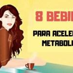 8 bebidas que estimulan el metabolismo para tonificar su cuerpo
