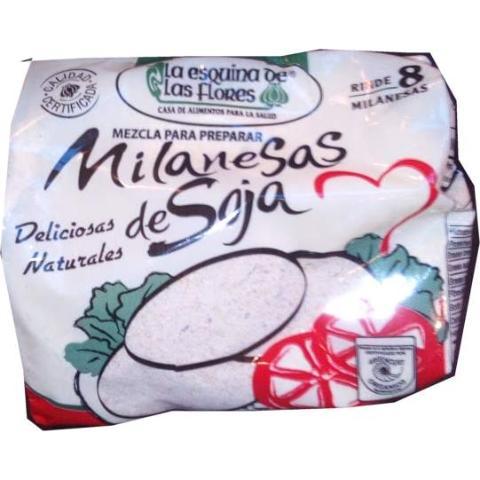 Mix premezcla milanesas de soja 'La Esq. de Las Flores' 300g