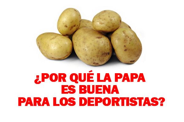 BENEFICIOS DE LA PAPA PARA DEPORTISTAS