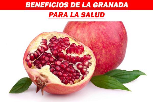 BENEFICIOS DE LA GRANADA PARA LA SALUD