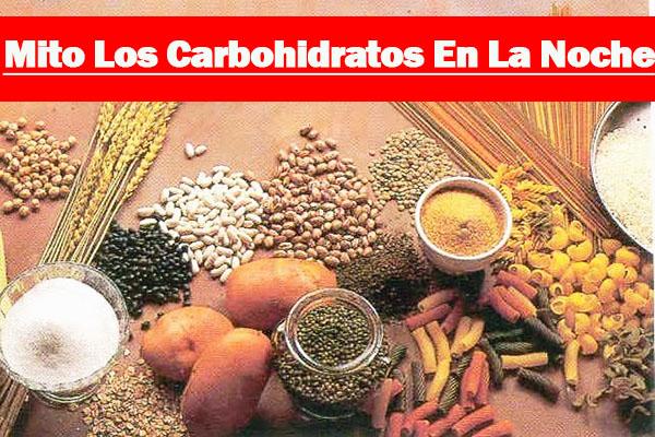 Carbohidratos en la noche