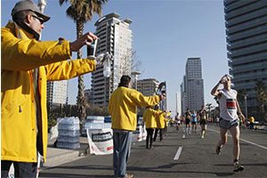 alimentacion durante medio maraton