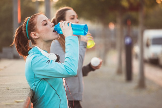 hidratación para media maratón