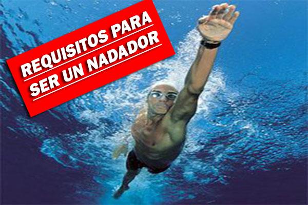 Requisitos para ser un nadador