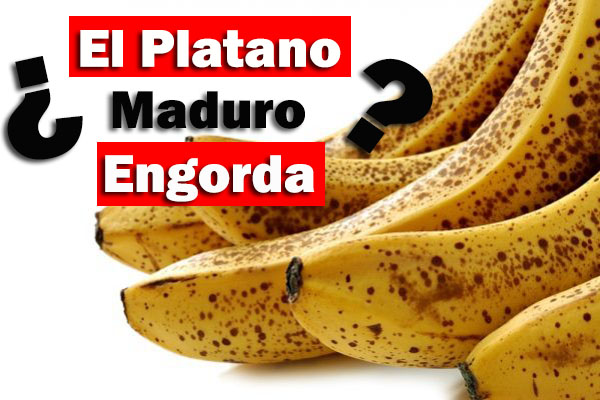 ¿El Plátano Engorda? DESMITIENDO EL GRAN MITO