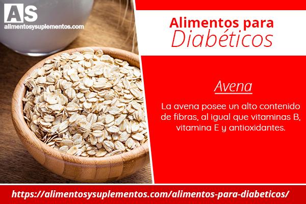 alimentos para diabeticos avena