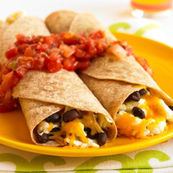 Burrito relleno