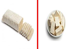 tempeh y tofu