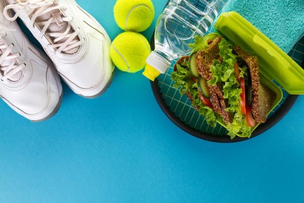 atleta vegetariano