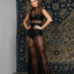 dantel siyah abiye elbise modelleri