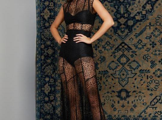 2019 Siyah Abiye Elbise Modelleri
