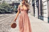 Önü Düğmeli Elbise Modelleri