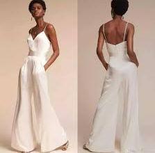 2020 Beyaz Modası: Beyaz Tulum Modelleri