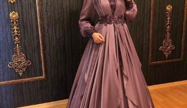 2020 Tesettür Söz- Nişan Elbisesi Modelleri