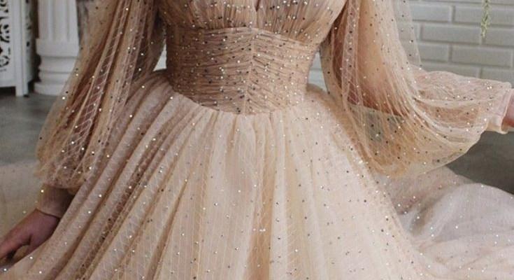 2021 Tül Abiye Elbise Modelleri
