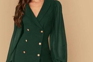 2021 Ceket Elbise Modelleri ve Kombinleri