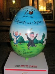 95. The Squash and a Squeeze 20th Anniversary Egg by Julia Donaldson, Axel Scheffler & Pan Macmillan
