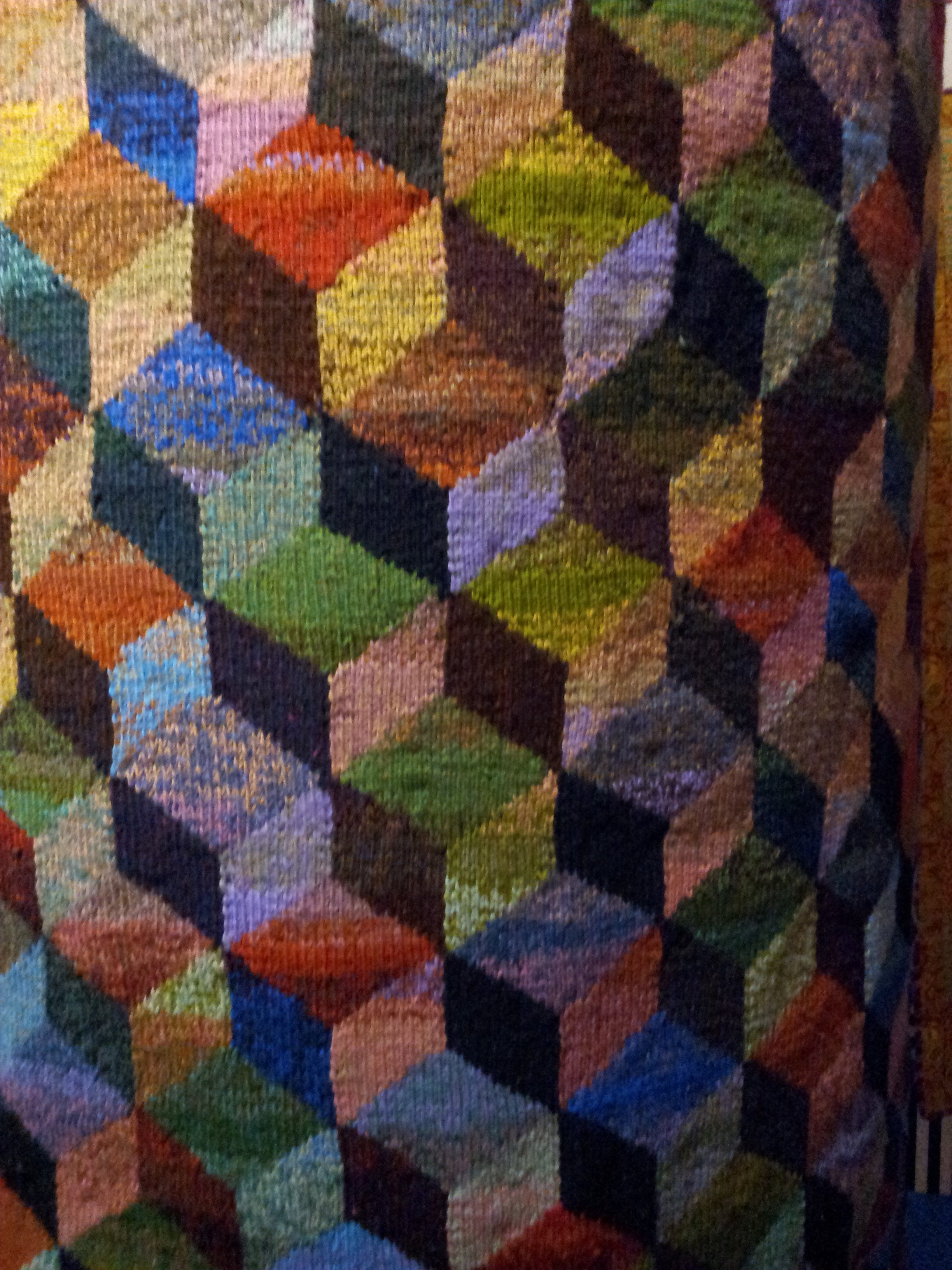 chair design inspiration gaming review kaffe fassett exhibition at fashion textiles museum, london | ali myers' blog