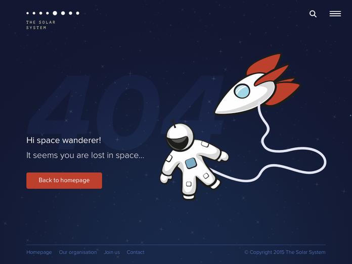 ce înseamnă Eroare 404